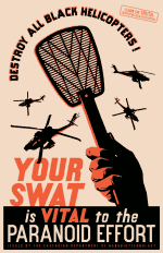 'Your Swat Is Vital' poster