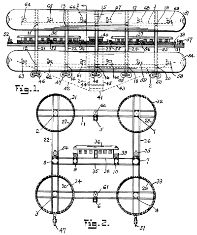 Figure 1 & 2 from patent #2,070,854