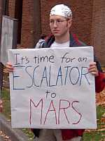 Escalator To Mars