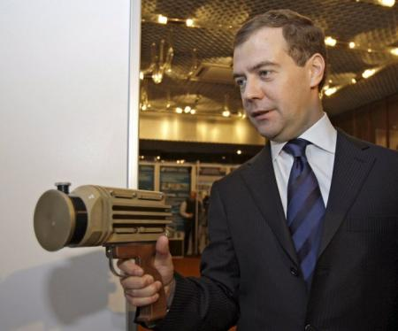 Dmitry Medvedev, president of your mind?
