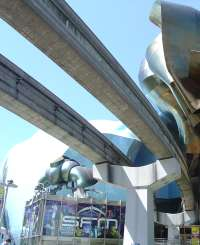 Monorail tracks