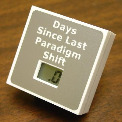 'Days Since Last Paradigm Shift'