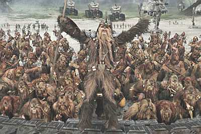 Wookiee Army copyright Lucusfilm