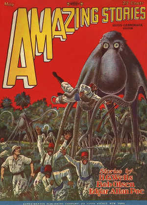 Cover: Amazing Stories, May 1928